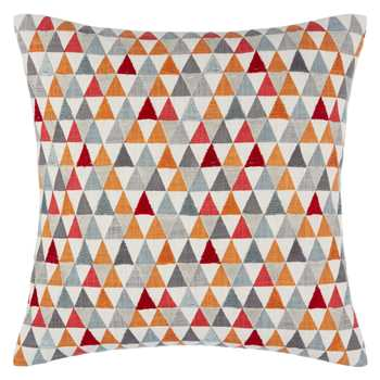 John Lewis Prism Cushion Orange