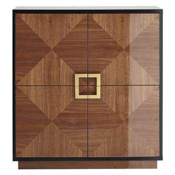 John Lewis Puccini 4-Door Cabinet 117.5 x 111cm