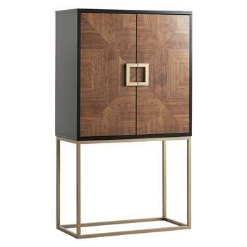 John Lewis Puccini Cocktail Cabinet 167.5 x 95.5cm