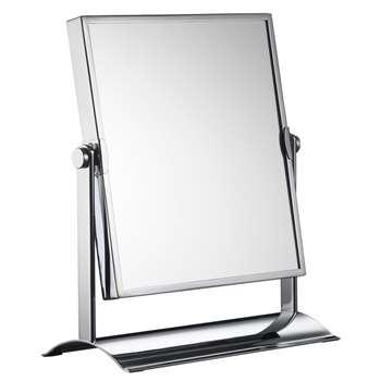 John Lewis Rectangular Double-Sided Magnifying Pivot Mirror 30.2 x 25.3cm