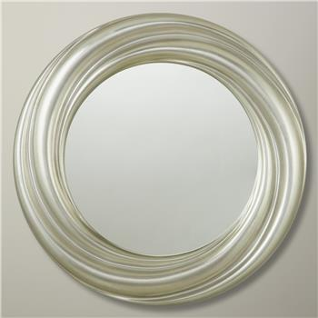 John Lewis Salon Swirl Mirror Silver