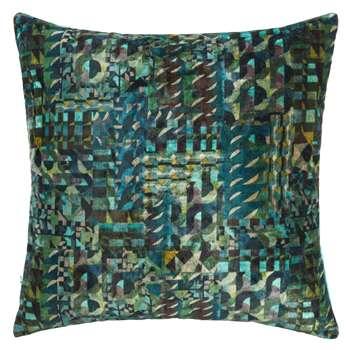John Lewis Samode Cushion, Green (50 x 50cm)