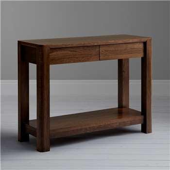 John Lewis Seymour Console Table, Dark Stain (Width 100cm)