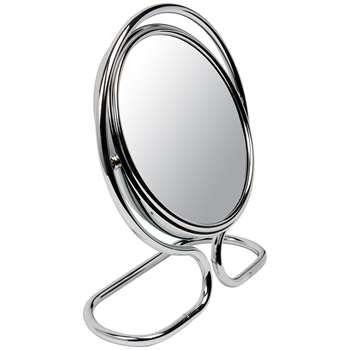John Lewis Shaving 10 x Magnifying Mirror, Chrome (18 x 13cm)