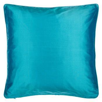 John Lewis Silk Cushion Dark Spruce