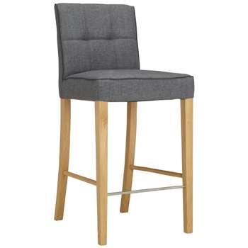 John Lewis Simone Bar Chair, Grey