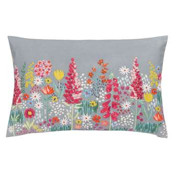 John Lewis Sissinghurst Border Cushion, Multi (40 x 60cm)