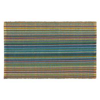 John Lewis Spirit Stripe Bath Mat - Multi 50 x 80cm