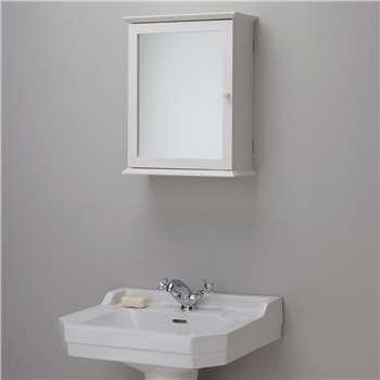 John Lewis St Ives Single Mirrored Bathroom Cabinet