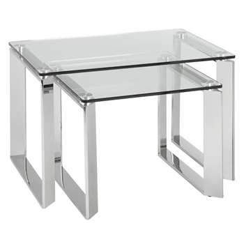 John Lewis Tropez Nest of 2 Tables (44 x 65cm)