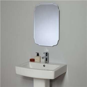 John Lewis Vintage Bathroom Wall Mirror 60 x 60cm