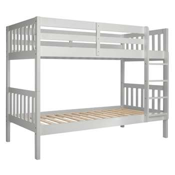 John Lewis Wilton Bunk Bed, Grey (153 x 198cm)