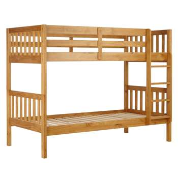 John Lewis Wilton Bunk Bed, Natural (153 x 198cm)
