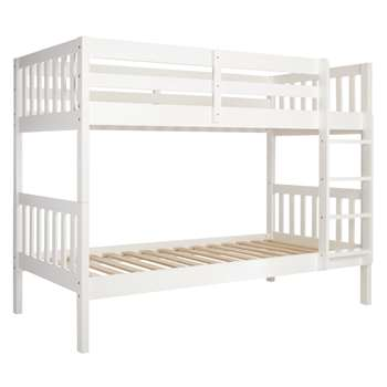 John Lewis Wilton Bunk Bed, White (153 x 198cm)