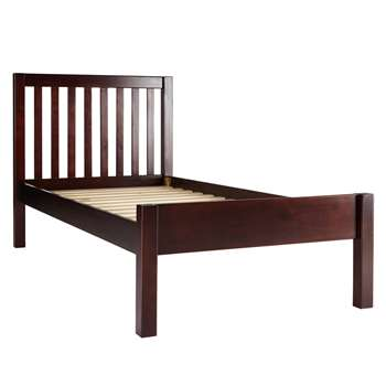 John Lewis Wilton Child Compliant Bed Frame, Single - Dark (Width 99cm)