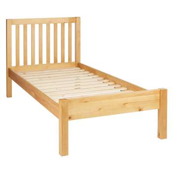 John Lewis Wilton Child Compliant Bed Frame, Single - Pine (Width 99cm)