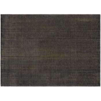 Johson Luxury Rug, Charcoal Grey & Gold (H200 x W300 x D2cm)