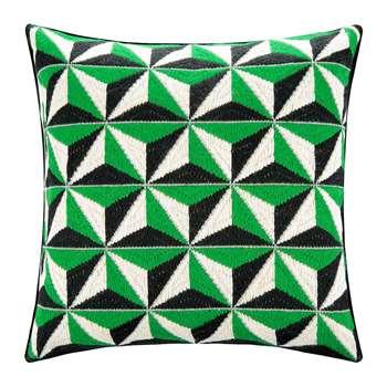 Jonathan Adler - Bargello Cushion - 40x40cm - Diamond Stud