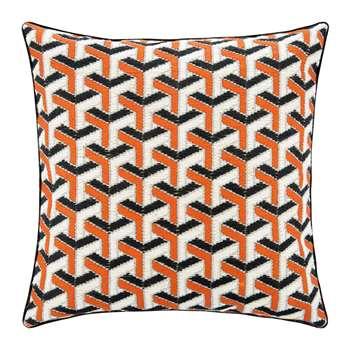 Jonathan Adler - Bargello Cushion - 40x40cm - Maze