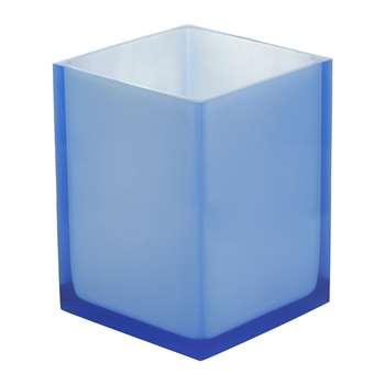Jonathan Adler - Hollywood Waste Bin - Blue (24 x 18cm)