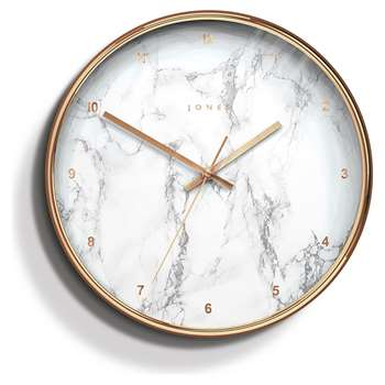 Jones Marble Clock (Diameter 30cm)