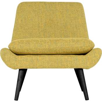 Jonny Accent Chair, Revival Yellow (78 x 74cm)