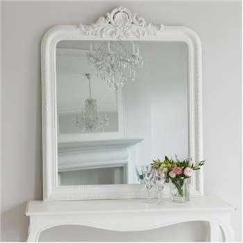Josephine Mirror - White (H120 x W100cm)