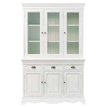 JOSÉPHINE White Paulownia Dresser (H190 x W124 x D42cm)