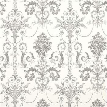 Josette Charcoal Wallpaper