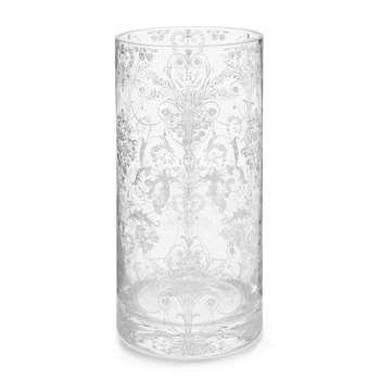 Josette Silver Printed Vase