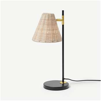 Joslin Table Lamp, Natural (H48 x W17 x D19cm)