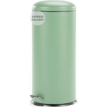 Joss 30L Domed Bin, Mint (H68 x W30 x D30cm)