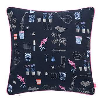 Joules - Cottage Garden Floral Cushion - Comet (H40 x W40cm)