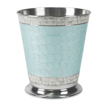 Julia Knight - Classic Waste Basket - Aqua (Height 27.8cm)