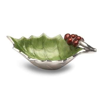 Julia Knight - Holly Sprig Bowl - Mojito - Small (Width 16.5cm)