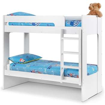 Julian Bowen - Ellie Kids Bunk Bed with Optional Trundle Bed (H168 x W100 x D198cm)