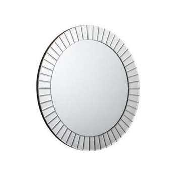 Julian Bowen Sonata Round Wall Hanging Mirror (60 x 60cm)