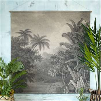 Jungle Wall Chart (H154 x W154 x D2cm)