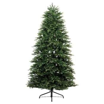 Kaemingk - 5ft Green Watson Slim Fir Christmas Tree (H150 x W91 x D91cm)