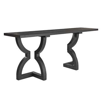 Kaishu Console Table - Black (85 x 200cm)