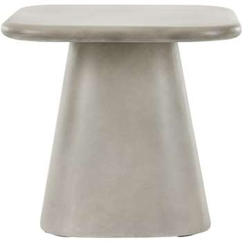 Kalaw Side Table, Concrete (H45 x W47 x D47cm)