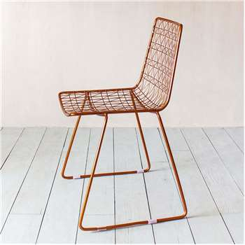 Kaleidoscope Copper Wire Chair (H85 x W46 x D53cm)
