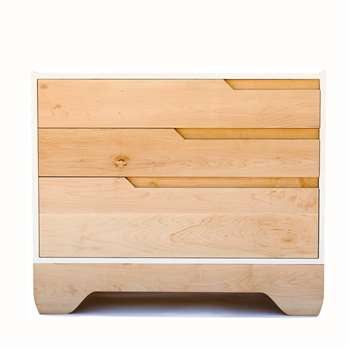 Kalon Studios Children's Echo Dresser in White Finish (75 x 89cm)