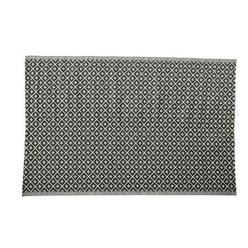 KAMARI polypropylene outdoor rug in black & white (180 x 270cm)