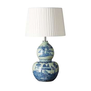 Kangxi Lamp - Blue/White (37 x 23cm)