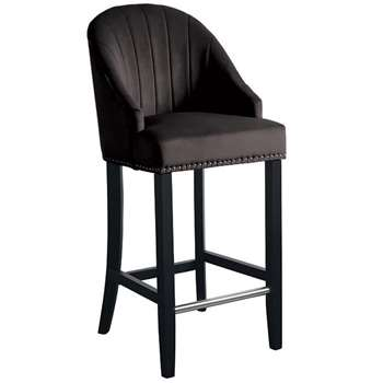 Kariss Bar stool - Black (108 x 49cm)
