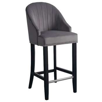 Kariss Bar stool - Smoke Grey (108 x 49cm)
