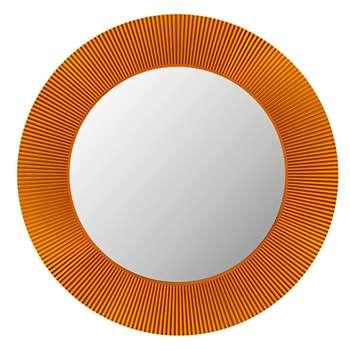 Kartell - All Saints Round LED Mirror - Amber (78 x 78cm)