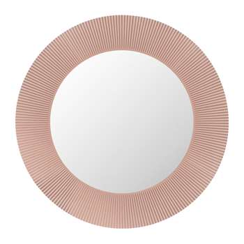Kartell - All Saints Round Mirror - Nude Pink (Diameter 78cm)