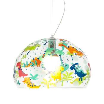 Kartell - Children's FL/Y Ceiling Light - Dinosaur - Medium (H33 x W52 x D52cm)